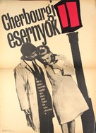 Les parapluies de Cherbourg - Hungarian Movie Poster (xs thumbnail)