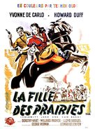 Calamity Jane and Sam Bass - French Movie Poster (xs thumbnail)