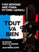 Tout va bien - French Movie Poster (xs thumbnail)
