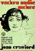Sadie McKee - Swedish Movie Poster (xs thumbnail)