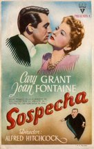 Suspicion - Spanish Movie Poster (xs thumbnail)