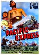 Union Pacific - French Movie Poster (xs thumbnail)