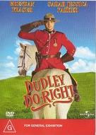 Dudley Do-Right - Australian Movie Cover (xs thumbnail)