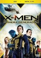 X-Men: First Class - Mexican DVD movie cover (xs thumbnail)