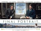 Final Portrait - British Movie Poster (xs thumbnail)