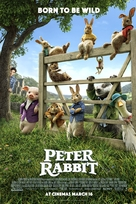 Peter Rabbit - British Movie Poster (xs thumbnail)