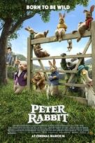 Peter Rabbit - British Movie Poster (xs thumbnail)