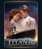 Titanic - Hungarian Blu-Ray cover (xs thumbnail)