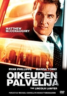 The Lincoln Lawyer - Finnish DVD movie cover (xs thumbnail)