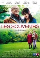 Les souvenirs - French DVD cover (xs thumbnail)