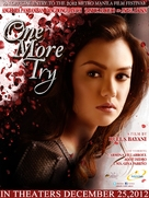 One More Try - Philippine Movie Poster (xs thumbnail)