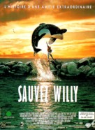 Free Willy - French Movie Poster (xs thumbnail)
