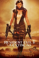 Resident Evil: Extinction - Brazilian Movie Poster (xs thumbnail)