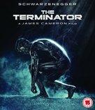 The Terminator - British Blu-Ray cover (xs thumbnail)