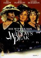 Widows' Peak - German DVD movie cover (xs thumbnail)