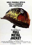 Full Metal Jacket - Italian Movie Poster (xs thumbnail)