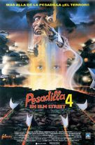 A Nightmare on Elm Street 4: The Dream Master - Spanish VHS cover (xs thumbnail)