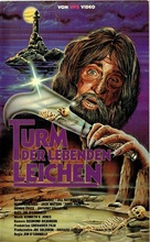 Tower of Evil - German VHS movie cover (xs thumbnail)