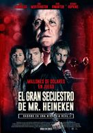 Kidnapping Mr. Heineken - Argentinian Movie Poster (xs thumbnail)