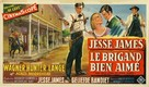 The True Story of Jesse James - Belgian Movie Poster (xs thumbnail)