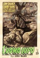 The Wolf Man - Italian Movie Poster (xs thumbnail)