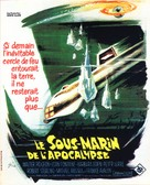 Voyage to the Bottom of the Sea - French Movie Poster (xs thumbnail)