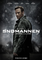 The Snowman - Norwegian Movie Poster (xs thumbnail)