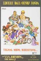 Yours, Mine and Ours - Spanish Movie Poster (xs thumbnail)