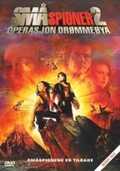 Spy Kids 2 - Norwegian DVD movie cover (xs thumbnail)