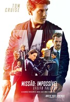 Mission: Impossible - Fallout - Brazilian Movie Poster (xs thumbnail)