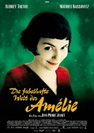 Le fabuleux destin d'Amélie Poulain - German Movie Poster (xs thumbnail)