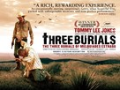 The Three Burials of Melquiades Estrada - British Movie Poster (xs thumbnail)
