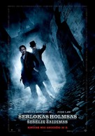 Sherlock Holmes: A Game of Shadows - Lithuanian Movie Poster (xs thumbnail)
