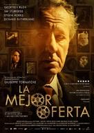 La migliore offerta - Spanish Movie Poster (xs thumbnail)