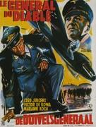 Teufels General, Des - Belgian Movie Poster (xs thumbnail)