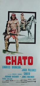 Chato's Land - Italian Movie Poster (xs thumbnail)