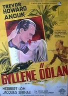 Golden Salamander - Swedish Movie Poster (xs thumbnail)