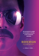 Bohemian Rhapsody - Slovenian Movie Poster (xs thumbnail)