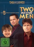 """""""Two and a Half Men"""" - German DVD movie cover (xs thumbnail)"""