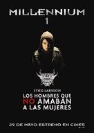 Män som hatar kvinnor - Spanish Movie Poster (xs thumbnail)