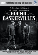 The Hound of the Baskervilles - DVD cover (xs thumbnail)