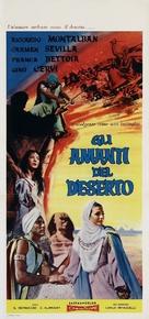 Amantes del desierto, Los - Italian Movie Poster (xs thumbnail)