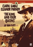 The King and Four Queens - British DVD movie cover (xs thumbnail)