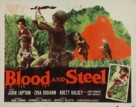 Blood and Steel - Movie Poster (xs thumbnail)