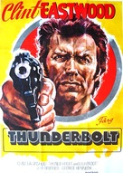 Thunderbolt And Lightfoot - Swedish Movie Poster (xs thumbnail)