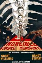 The Incredible Shrinking Man - Spanish Movie Poster (xs thumbnail)