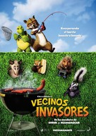Over The Hedge - Spanish Movie Poster (xs thumbnail)