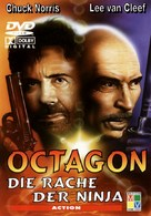 The Octagon - German Movie Cover (xs thumbnail)