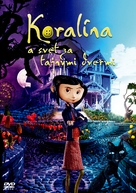 Coraline - Slovak Movie Cover (xs thumbnail)