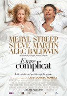 It's Complicated - Romanian Movie Poster (xs thumbnail)